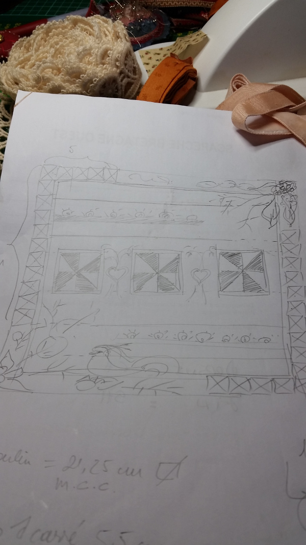 dessin quilt